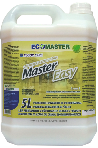 35.0008 - Ecomaster Easy 5Lts