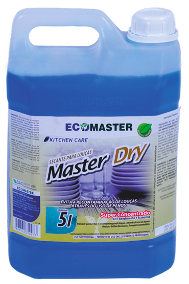 33.0029 - Ecomaster Dry Secante Top 5Lts