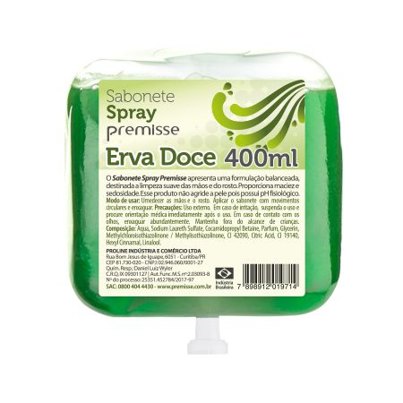 12.1594 - Premisse Refil Spray Erva Doce 400ml