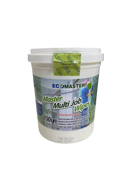 33.0105 - Ecomaster Multi Job Wipes com 150und